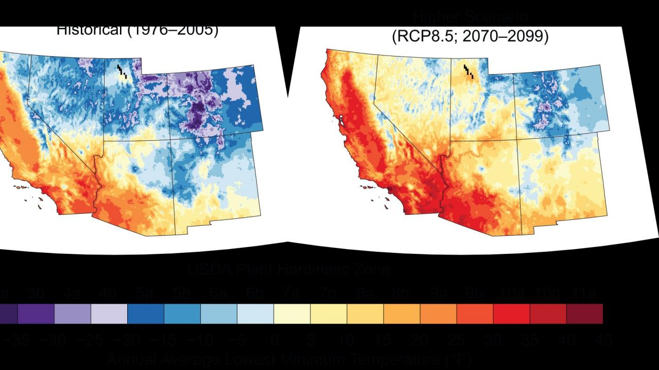 Climate Change Maps
